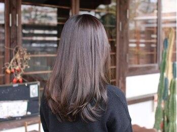テントヘアー(tent hair)の写真/今までのトリートメントで満足出来なかったあなたへ☆サロンを出る頃には自分の髪がきっと好きになる♪