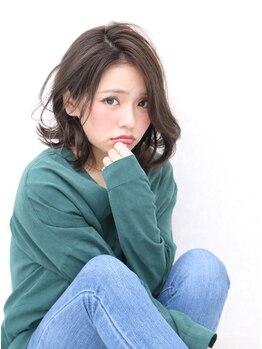 デュークラソル(du:c LASOL)の写真/【アプリエミドルカラー】色質感カラーで、色濃く透ける発色を実現♪さりげない女性らしさ×トレンドを☆