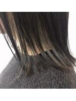 マド ヘア(mado hair)密かなインナーカラー