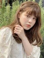 キラ 原宿 表参道(KILLA)ココアベージュ 大人かわいい 前髪 くすみカラー
