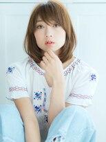 リル ヘアーデザイン(Rire hair design)【Rire-リル銀座-】王道☆ひし形ミディ