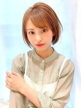 アイビー(Ivy)大人かわいい小顔ひし形ショートボブ30代40代50代横浜