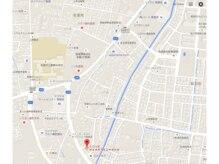 ラブハーツオハナ(Love Hearts OHANA)の雰囲気(お店の周辺地図になります。)