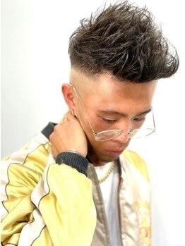 ゼロイチ ヘアームゲン(#01 hair & ∞)の写真/【バーバー顔負けのフェードカット】仕上がり満足度◎美容室で本物のフェードカットを体験してみませんか?