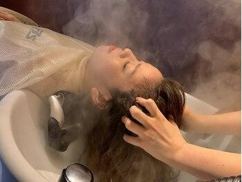 レナークイスト(LENAHC ist)の写真/眠らずにはいられない!絶妙な力加減や技術で、頭皮もココロもRelax…贅沢なひとときをお過ごしください。