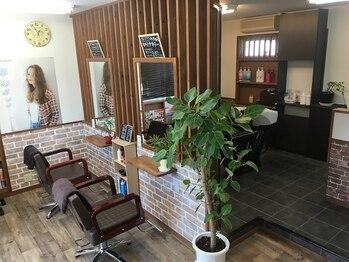 美容室 マエストロ(Maestro)の写真/スタイリストが最後まで担当!ゆったり穏やかなプライベート空間で、理想のスタイルを叶えましょう♪