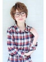 オーロ 西宮店(ORO)メガネが似合うカジュアルショート