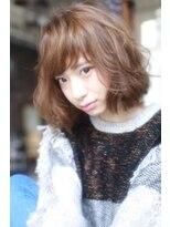 ラベリー(LOVELEY)7/20 open A/W フェザーミルクティーカラーミディ  ☆ 447