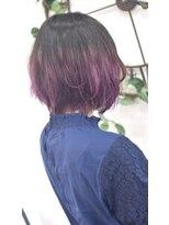 ヘアーサロン エール 原宿(hair salon ailes)(ailes原宿)style388 グラデーション☆ピンクレッド