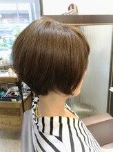 グリームス ヘアデザイン(GLEAMS Hair Design)上品大人ショートボブ★チーフ