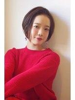 ヘアリゾート リアン(hair resort Lien)ナチュラルショートボブ ☆Lien☆ 倉田
