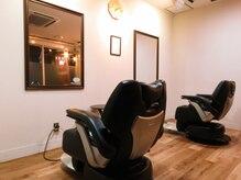 リアン プレミアムバーバー(Lien premium barber)の雰囲気(マンツーマンで接客するので周りの目を気にしない)