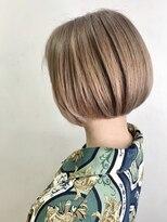 ソース ヘア アトリエ 京橋(Source hair atelier)【SOURCE】ミニボブミルクティー