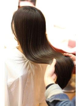 デュークラソル(du:c LASOL)の写真/【オージュアトリートメント】日本人女性の美髪の為に生まれた☆本当にキレイな美髪を叶えてくれます!