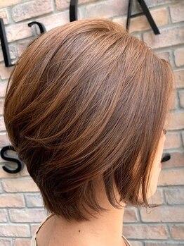 ラ カスタ ヘアスタイリスト クラブ(La CASTA hair stylist club)の写真/【ショートStyleにこだわり★得意なスタイリスト在籍】理想のスタイルが長続きする再現性の高いカット!