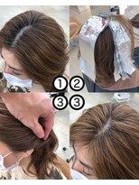 フィックス アップ(FIX-UP SHIBUYA)[FIX-UP宮崎]脱白髪染めハイライトカラー