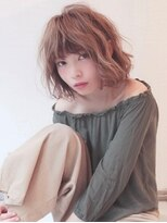 《Agu hair》ゆるふわガーリーミディ