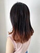 サラ ニジュウイチ ビューティーサイト(SARA21 Beauty Sight)グラデーションオレンジカラー