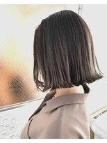 チクロヘアー(Ticro hair)【ticro大石】ボブグレージュ