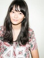 アンジー(AnZie)【坂狩トモタカ】シースルーバング×リップルウェーブ