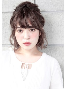 ヘアサロン ガリカ 表参道(hair salon Gallica)簡単アレンジ ☆ ハーフUP ☆
