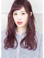 ヘアサロン ガリカ 表参道(hair salon Gallica)☆ 『 ベリー × グレージュ 』外国人風 小顔semi-long♪ ☆