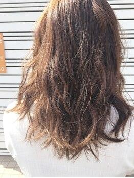 """ヘアカット ツインクル(hair cut twinkle)の写真/ブリーチなしでも透明感×色味が手に入る""""イルミナカラー""""導入☆憧れの外国人風カラーが叶います♪"""