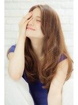 ミンクス ギンザ(MINX ginza)【MINX鈴木】プラチナベージュで飾る、リラックスロング