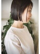クリアオブヘアー リット(CLEAR of hair LiT)大人ボブスタイル