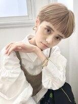 【Keisuke】ハイトーン×マッシュショート