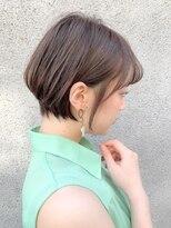 ノット(Knot)【knot阿部展大】大人かわいい綺麗なエッジショートスタイル