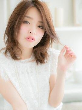 モッズヘア 上尾店(mod's hair)媚びない☆クールなセミディa
