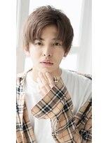 「HairSalonTAKAHIRO」 爽やかかきあげ刈り上げコンマヘア