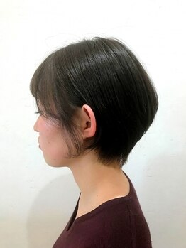 ゼル 熊谷(ZELE)の写真/『 ノンスタイリングでOK 』髪質・骨格を活かす カットで、乾かすだけで思い通りに☆