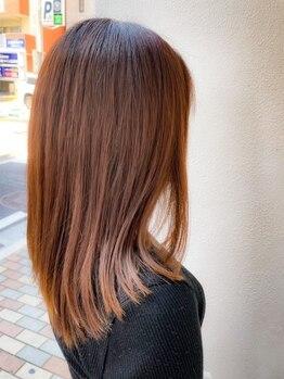 マキシムジェントルハート店の写真/【髪質改善】髪のうねり・広がり・クセの悩みを解消◎自然なストレートで毛先まで潤う美髪に導きます…♪