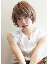アグ ヘアー エクラ 津志田店(Agu hair eclat)《Agu hair》大人かわいいひし形前下がりショート