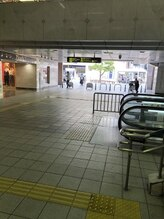 阪急茨木市駅からsCene Rita店までの道順☆