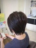 クール ヘアー ギャラリー 神明町店(COOL Hair gallery)軽やか小頭ショート☆