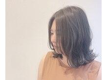 ヘアーアンドビューティジョウ(hair&beauty JOU)の雰囲気(ハイライトを入れて動きのあるスタイルに!)