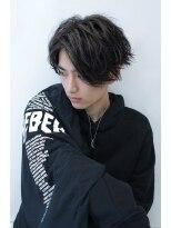 アクシー 渋谷店(AXY)cut3600円グランジミディアムスマートマッシュイメチェンシ