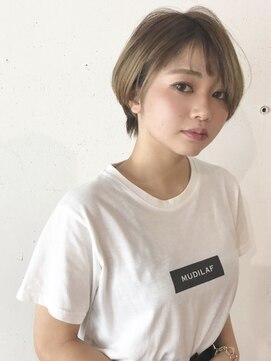 サヴァ ケヤキ(SAVA keyaki)ショートボブ