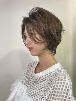 ステラ ヘアモード 新長田店(STELLA hair mode)の写真/スッキリ小顔に見える、CUTEで女性らしいショートスタイルが大人気☆ばっさりイメージチェンジも大歓迎!