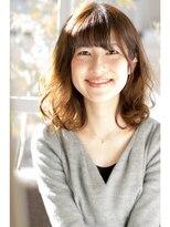 ソラ ヘアデザイン(Sora hair design)女子力高めなミディで、大人可愛さUP!