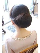 ベル(BELL)結婚式/ 髪型/シニヨン/ アップ【BELL桜新町/用賀】