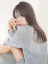 アンジェリカ ハラジュク(Angelica harajuku)【Angelica 白石研太】 グレージュカラーロング