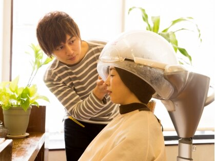 髪業の写真