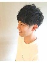 コックス(COX)無造作パーマ、ツーブロックマッシュ【伊勢原】