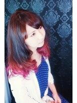 ☆ピンクグラデーションカラー☆