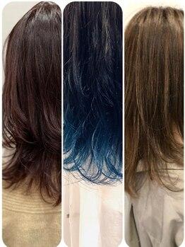 ストリング ヘアー(string hair)の写真/[string]の似合わせカラーで周りと差をつけて!とっておきのオリジナルカラーでもっと魅力的なあなたに♪