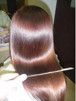 M3Dカラーによるロングヘア